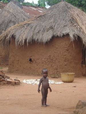 Hands of Love begins with seven mud huts and 188 children in rural Namadhi, Uganda.