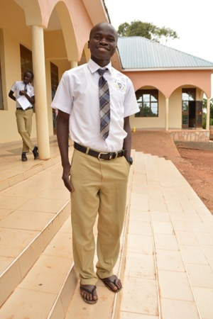 The first class of 25 students graduate from Hands of Love with either high school degrees or vocational school degrees. Less than 2% of Uganda's population currently completes high school.